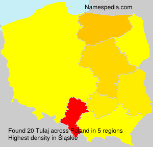 Surname Tulaj in Poland