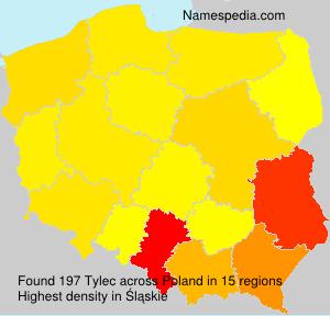 Familiennamen Tylec - Poland