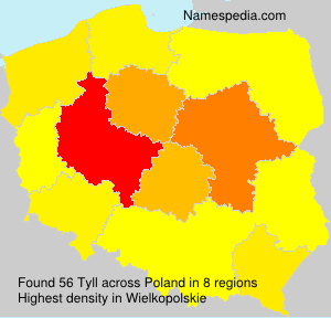Surname Tyll in Poland