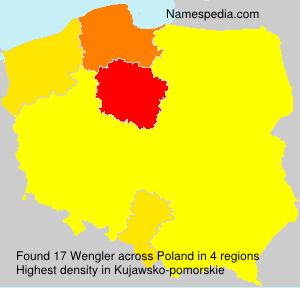 Surname Wengler in Poland
