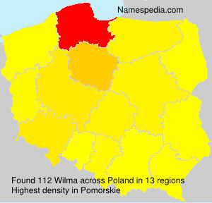 Surname Wilma in Poland