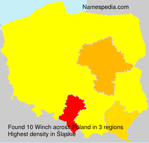 Surname Winch in Poland
