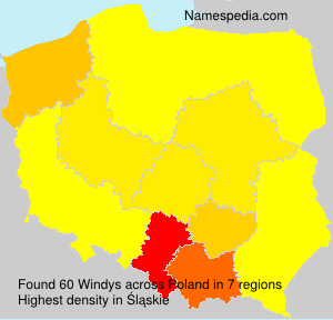 Surname Windys in Poland