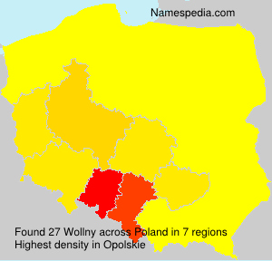 Surname Wollny in Poland