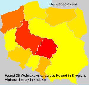 Wolniakowska