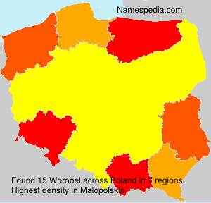 Surname Worobel in Poland