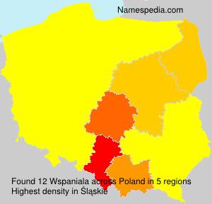 Familiennamen Wspaniala - Poland