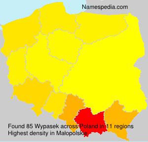 Surname Wypasek in Poland
