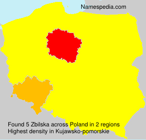 Surname Zbilska in Poland