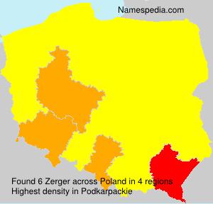 Surname Zerger in Poland