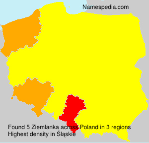 Familiennamen Ziemlanka - Poland