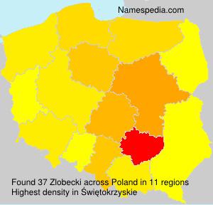 Familiennamen Zlobecki - Poland