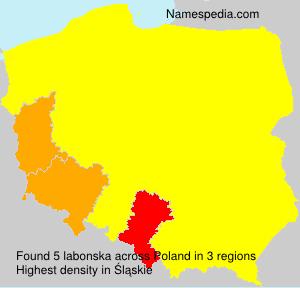 Familiennamen labonska - Poland