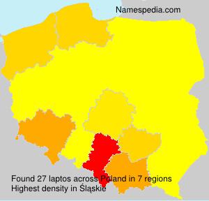 Familiennamen laptos - Poland