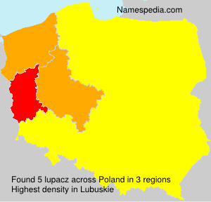 Surname lupacz in Poland