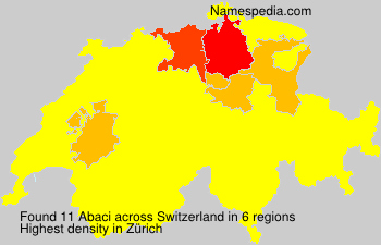 Surname Abaci in Switzerland