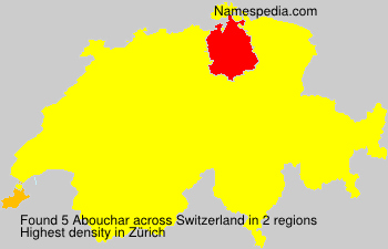 Surname Abouchar in Switzerland