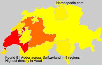 Addor - Switzerland