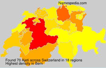 Familiennamen Ajeti - Switzerland