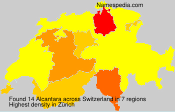 Surname Alcantara in Switzerland