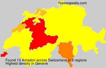 Familiennamen Amadori - Switzerland