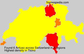 Surname Anfuso in Switzerland