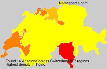 Surname Anzalone in Switzerland