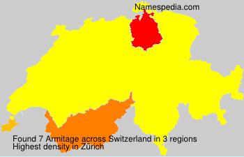 Familiennamen Armitage - Switzerland