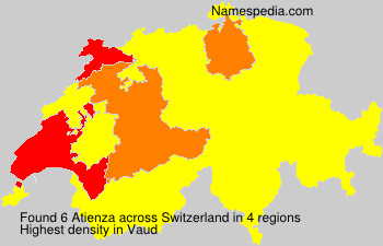 Surname Atienza in Switzerland