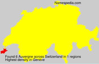 Auvergne - Switzerland