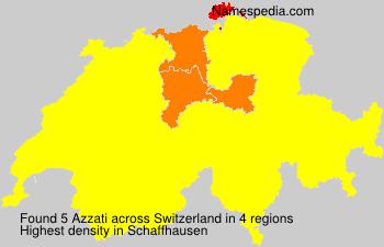 Familiennamen Azzati - Switzerland