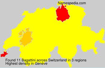 Familiennamen Bagattini - Switzerland