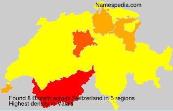 Surname Bajram in Switzerland