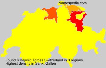Familiennamen Bajusic - Switzerland