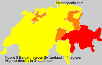 Surname Bargahr in Switzerland