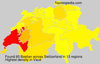 Surname Bastian in Switzerland
