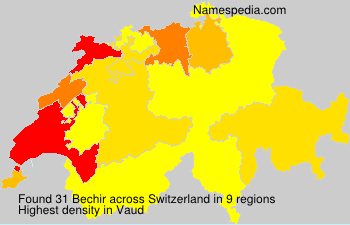 Surname Bechir in Switzerland