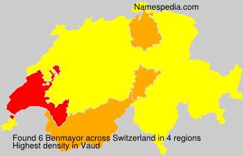 Surname Benmayor in Switzerland