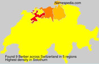 Familiennamen Berber - Switzerland