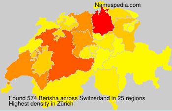 Familiennamen Berisha - Switzerland