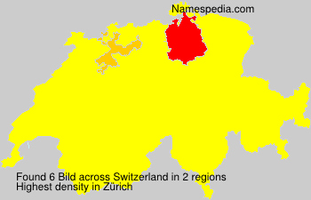 Surname Bild in Switzerland