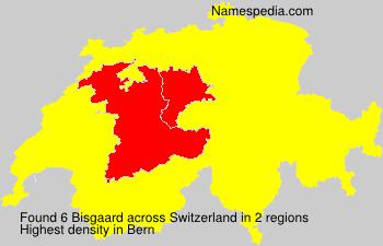 Surname Bisgaard in Switzerland