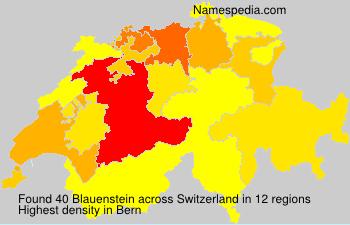 Familiennamen Blauenstein - Switzerland