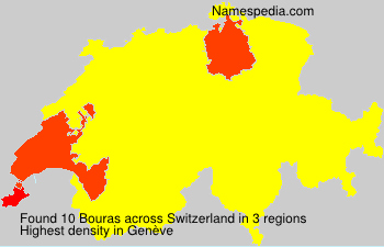 Surname Bouras in Switzerland