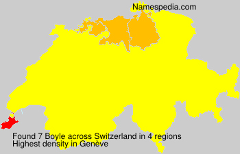 Surname Boyle in Switzerland