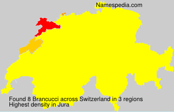 Surname Brancucci in Switzerland