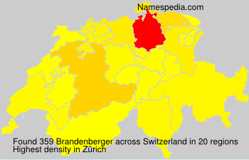 Familiennamen Brandenberger - Switzerland