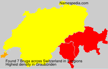 Surname Bruga in Switzerland