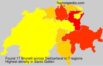 Brunett