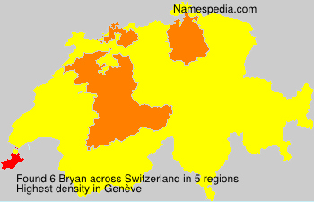 Surname Bryan in Switzerland
